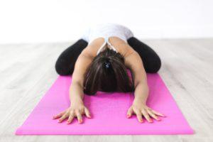 étirements yoga