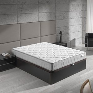 lit avec matelas à mémoire de forme