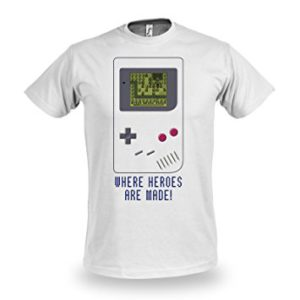 tshirt gameboy